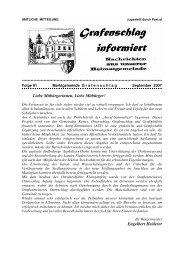 Gemeindezeitung Nr. 81 September 2007 (0 bytes) - Grafenschlag