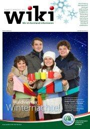 Die neue Ausgabe von WiKi ist erschienen... - Grafenschlag