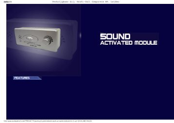 Sunbeam Sound Activated CCFL Module - Grafi-Call