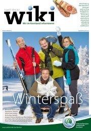 Wiki - Winterausgabe - Marktgemeinde Martinsberg
