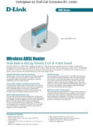 With Built-in 802.11 g Wireless LAN - Grafi-Call