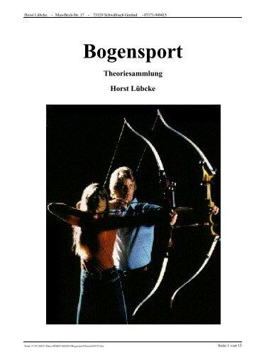 Kraft-Weg Diagramm Recurvebogen HL - Bogensport-Rheinland