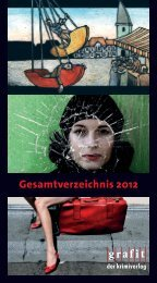 Gesamtverzeichnis 2012 - Grafit Verlag