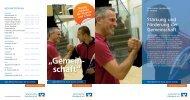 Flyer zu den Vereinskonten - Grafschafter Volksbank eG