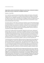 Neue Kooperationsverträge - Grafschafter Volksbank eG