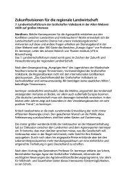 Zukunftsvisionen für die regionale Landwirtschaft - Grafschafter ...