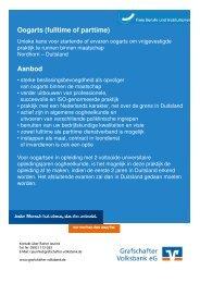Oogarts fultime of parttime 1 - Grafschafter Volksbank eG