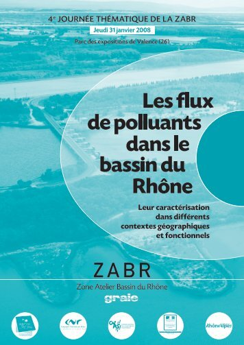 Les flux de polluants dans le bassin du Rhône - Graie