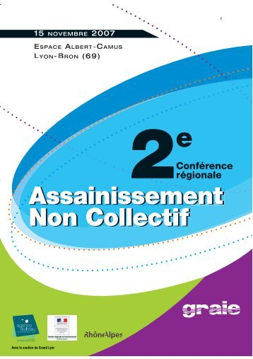ent Assainissement ment A Non Collectif Assainissement ... - Graie