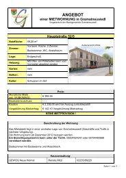 Hauptstraße 52/5 - Marktgemeinde Gramatneusiedl