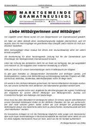 Bürgermeisteraussendung 1/04 (0 bytes) - Gramatneusiedl