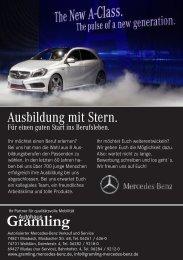 Azubi-Flyer (1,86 MB) - Autohaus Heinrich Gramling GmbH & Co. KG