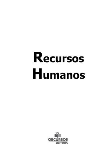 Recursos Humanos - Gran Cursos