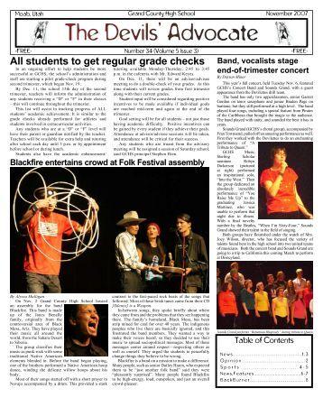 November 2007 - Grand County School District