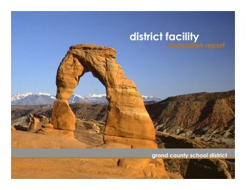 Facilities Tour (PDF / 2.0MB) - Grand County School District