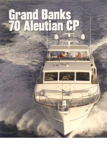 72 Aleutian RP - Grand Banks Yachts