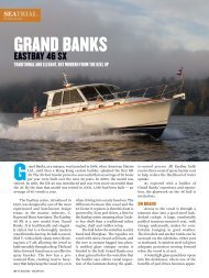 Sea Trial: GB 46 Eastbay SX - Grand Banks Yachts