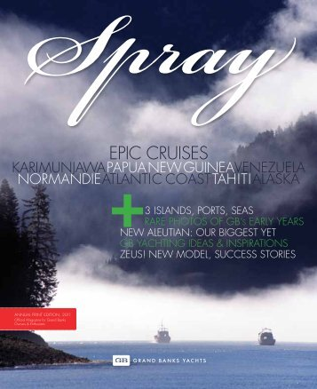 EPIC CRUISES - Grand Banks Yachts