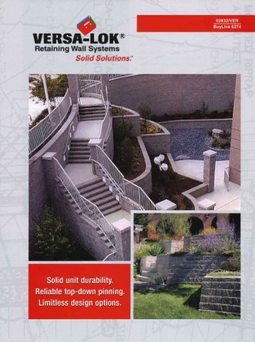 Retaining Wall Systems Solid Solutionsl' - Grand Blanc Cement ...