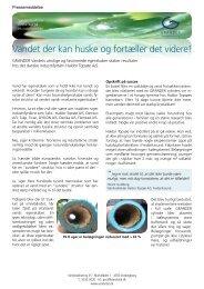 Pressemeddelelse om Grander i DK