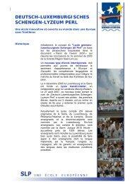 Dossier de presse - Grande Région