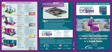Greater Region Business Days 2012 (pdf - 2302 Ko) - Grande Région