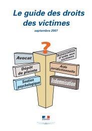 Guide victimes sept 2007 - Accueil du site