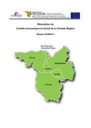 Réseau EURES-T - Grande Région