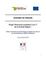 Dossier de presse - Gouvernement du Grand-Duché de Luxembourg