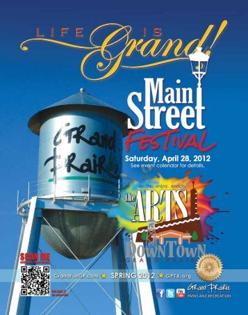 Spring 2012 - The City of Grand Prairie Parks and Recreation ...