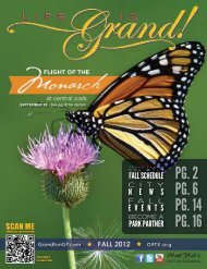 Fall 2012 - The City of Grand Prairie Parks and Recreation Department