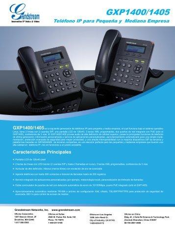 GXP1400/1405 - Grandstream Networks