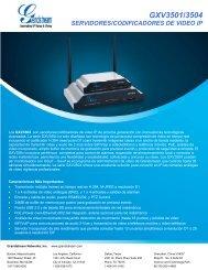 GXV3501/3504 - Grandstream Networks