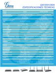 GXV3501/3504 - Grandstream Networks - Page 2