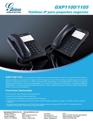 GXP1100/1105 - Grandstream Networks
