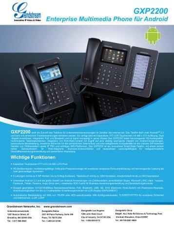 GXP2200 - Grandstream Networks