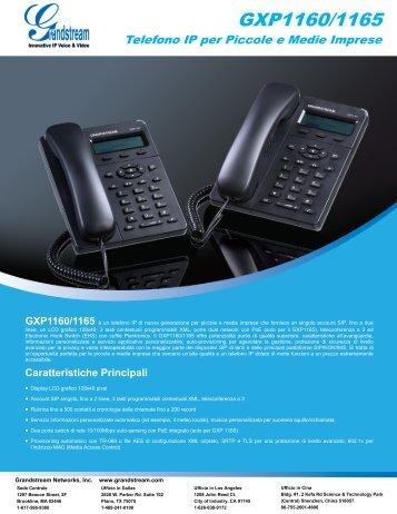 GXP1160/1165 - Grandstream Networks