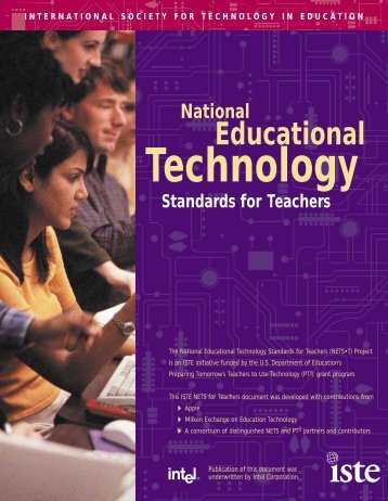 NETS- Standards for Teachers - Granite School District