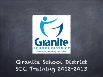 GSD SCC Training 2012.pdf - Granite School District