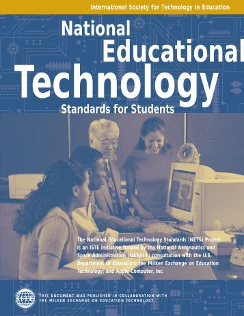 NETS- Standards for Students - Granite School District