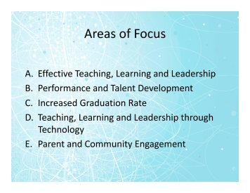 Connecting the Dots, part II - Granite School District
