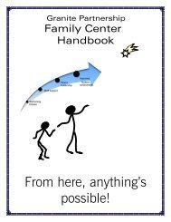 Utah Special Education Paraeducator Handbook Granite School