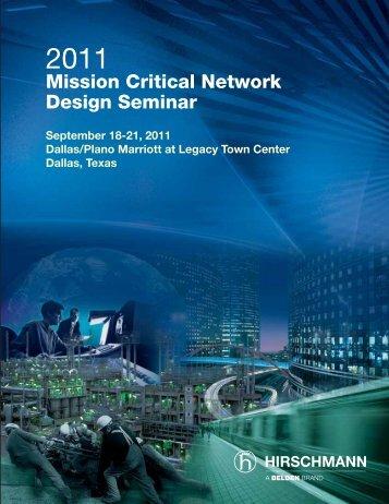 Mission Critical Network Design Seminar - Grant Industrial Controls
