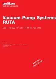 Vacuum Pump Systems RUTA - Vacuum Products Canada Inc.