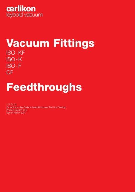 Vacuum Fittings Feedthroughs - Granzow