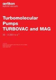Turbomolecular Pumps TURBOVAC and MAG - Granzow