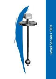 Level Sensors 1001 Approvals - Granzow