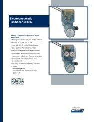 Electropneumatic Positioner SRI983 - Granzow