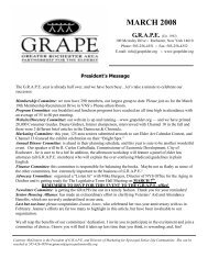 March 2008 Working 3 - Grape