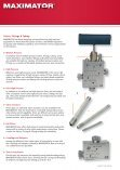 High Pressure Valves, Fittings and Tubing - Granzow - Page 4
